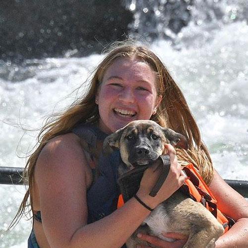 Jordan Freer, river guide for ARTA River Trips