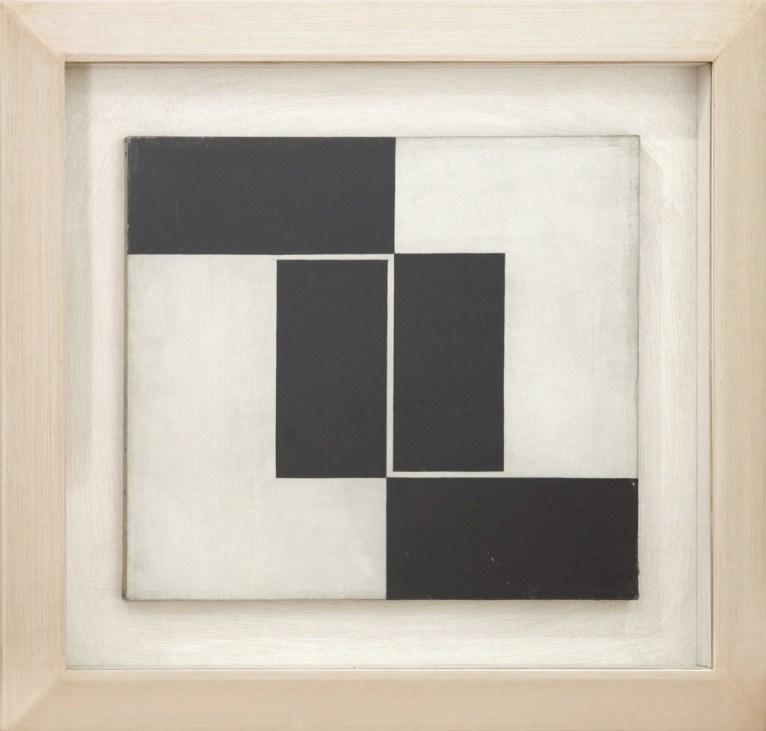 nove tendencjie: Julije Knifer: Untitled, 1960 | Courtesy KaribianFilipovićcollection