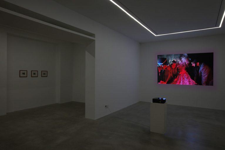 Tony Oursler. The Volcano and Poetics Tattoo, 2019 - installation view   courtesy Dep Art Gallery, Milano