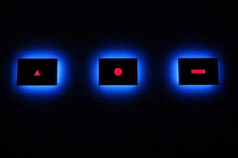 Nanda Vigo, Palazzo Reale, Milano, 2019: Trilogia, Light progressions