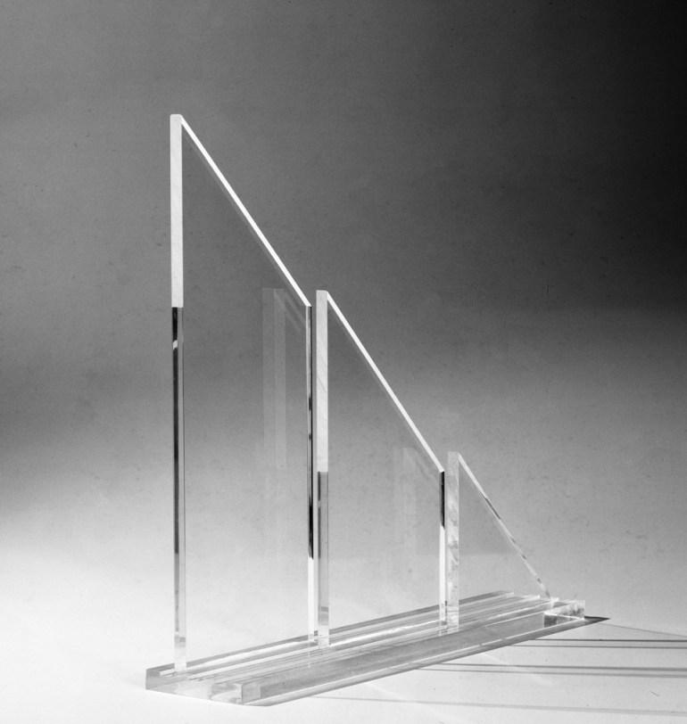 Annamaria Gelmi: Sequenza triangolare, 1978