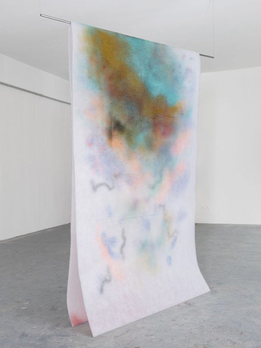 Corinna Gosmaro, Aria Calda, 2019  The Gallery Apart, Roma.