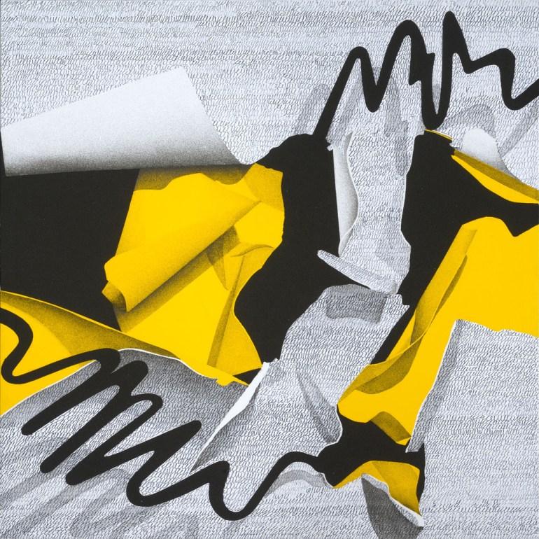 Agostino Ferrari Interno/ Esterno, 2014 - Acrilico, sabbia e china su tela