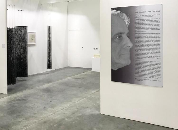 Arte Fiera 2020: solo show Piero Fogliati | Courtesy Bonioni Arte (Reggio Emilia)