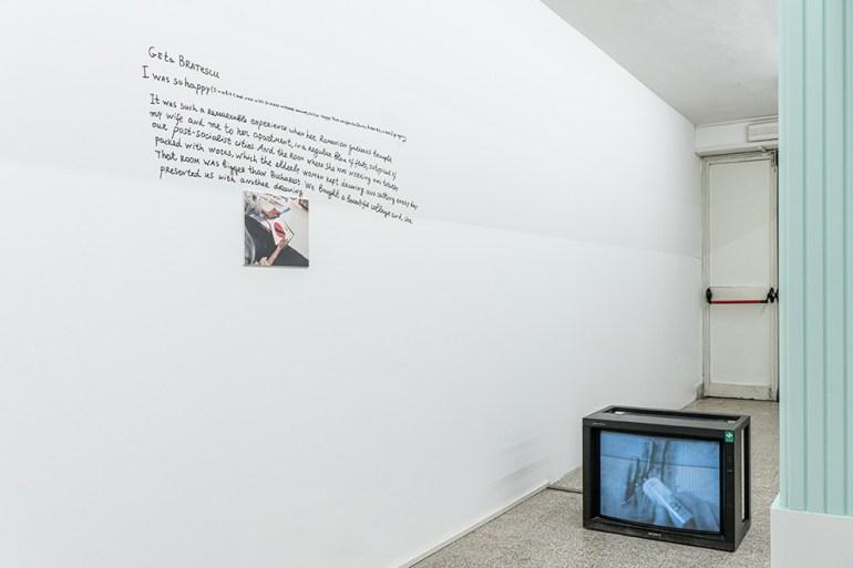 The Artist-Collector Dream Galleria  Continua San Gimignano Geta Bratescu: Pentru ochi, mâna trupului meu îmi reconstituie portretul  1977