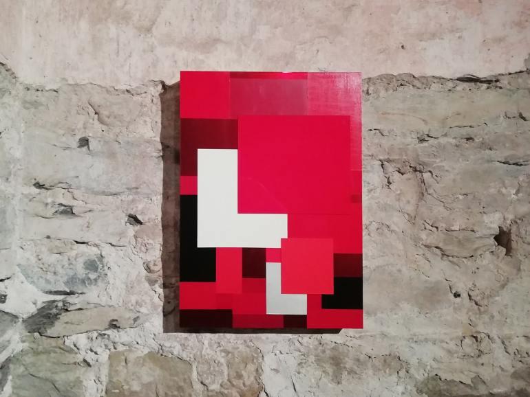 Marco Casentini: Drive IN, 2018 - veduta alla Rocca di Umbertide, 2020