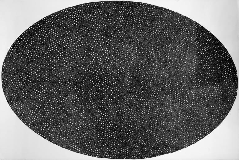 ArtVerona 2020 - Digital White: Giulia Napoleone: la lampe et c'est le noir, 2019 | Galleria Il Ponte