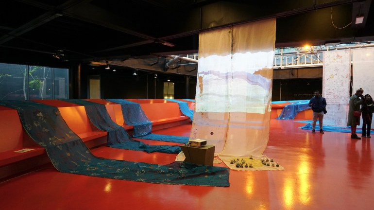 The Tides/La Marea, MACRO Museum, December 2019 - installation view | courtesy Monica Jahan Bose.