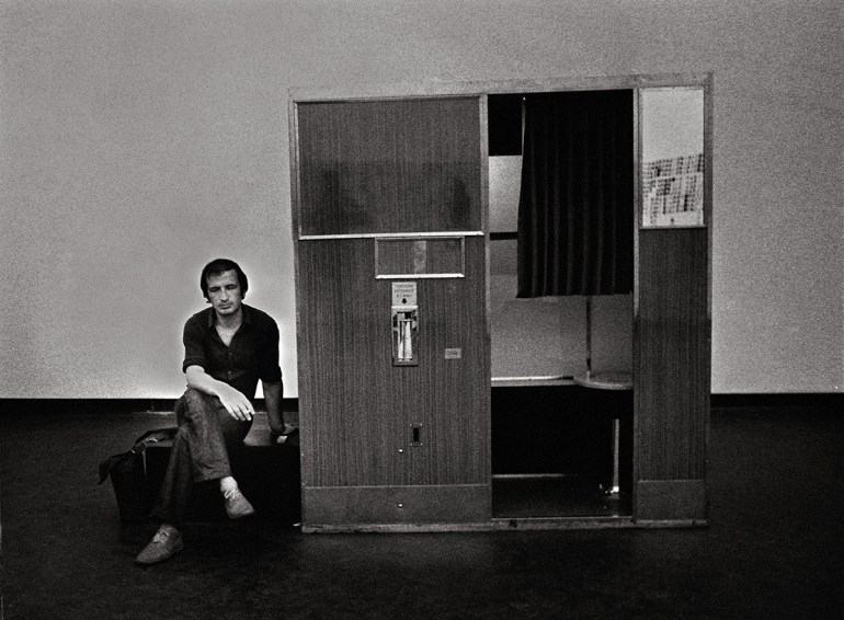 Franco Vaccari alla XXXVI Biennale di Venezia, 1972 Courtesy the artist and P420, Bologna