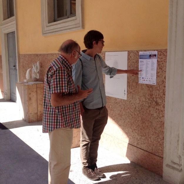 70 visita alla mostra con Gian Paolo Bonesini e Edoardo Bonaspetti