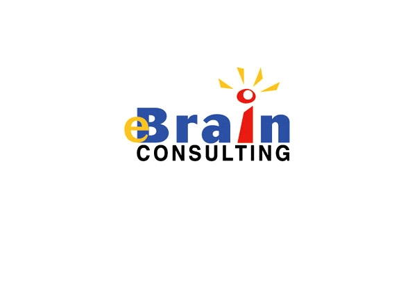 Company logo design for business consulting and management