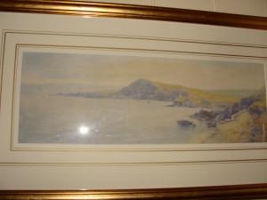 Ilfracombe Towards Lantern Hill by John White
