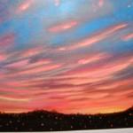 Winter Sunset Acrylic