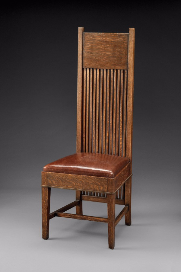 frank lloyd wright chairs vintage wicker for sale tall back side chair art antiques magazine