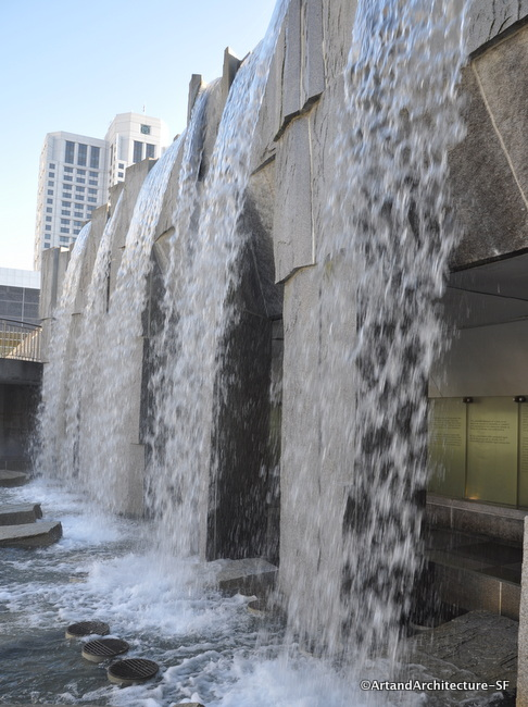 Martin Luther King, Jr. Memorial and Waterfall, San Francisco