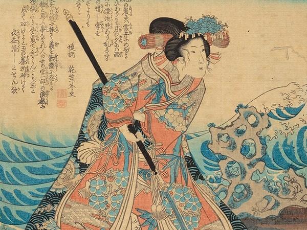 donna samurai del sol levante