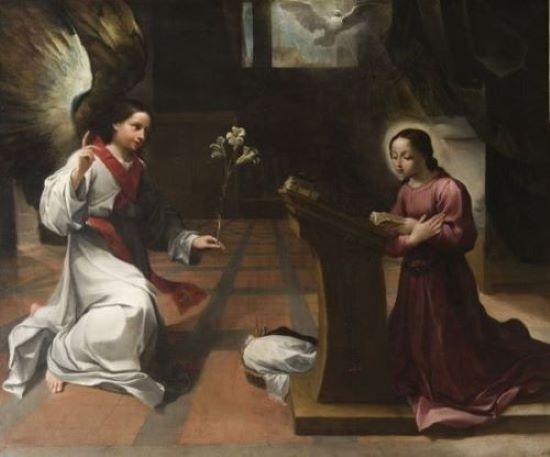 ludovico carracci annunciazione pinacoteca bologna