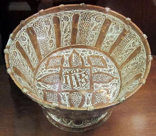 esempio di maiolica ispano moresca