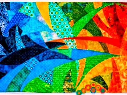 la stoffa delle artiste l'arte del patchwork a treviso