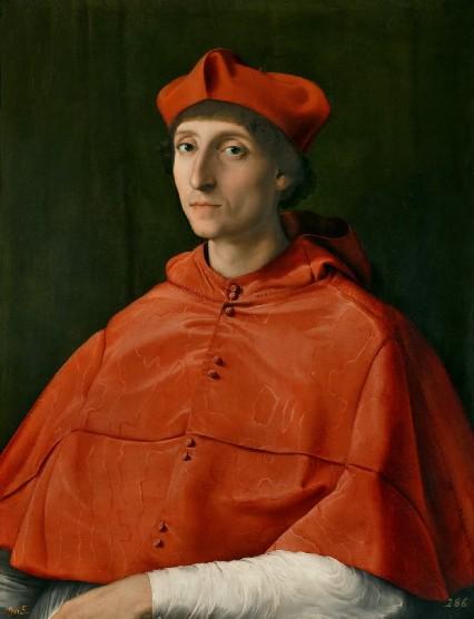 raffaello ritratto di cardinale