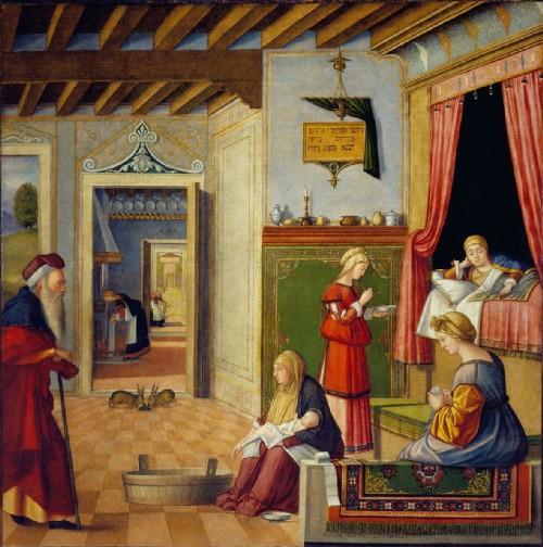 dipinto di vittore carpaccio inserito nella mostra il rinascimento parla ebraico a ferrara