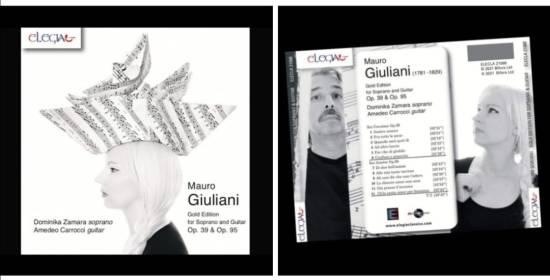 Nuovo disco per il soprano Dominika Zamara e il M° Amedeo Carrocci alla chitarra classica