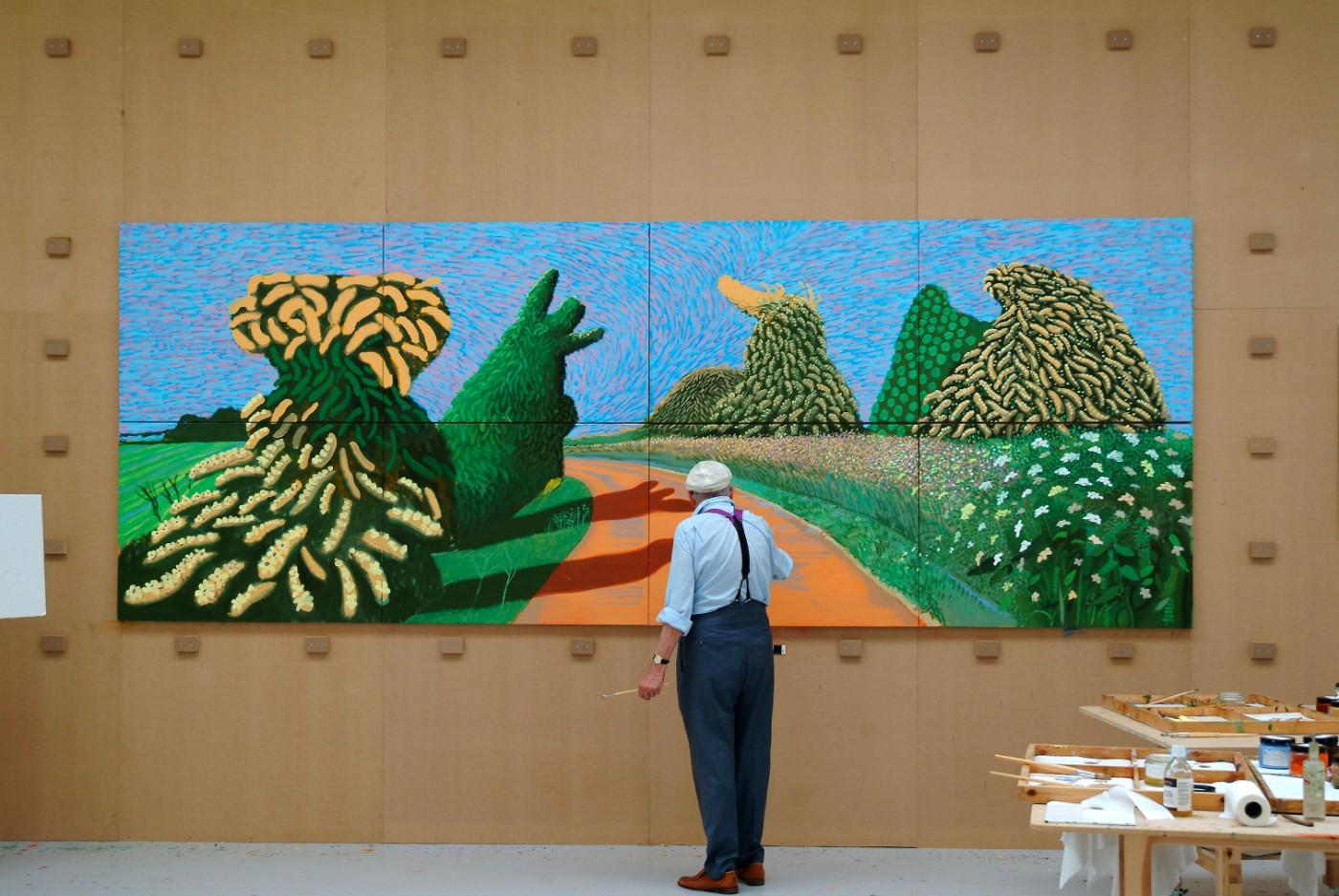 Will 2019 Be David Hockney S Best Year Yet Art Object