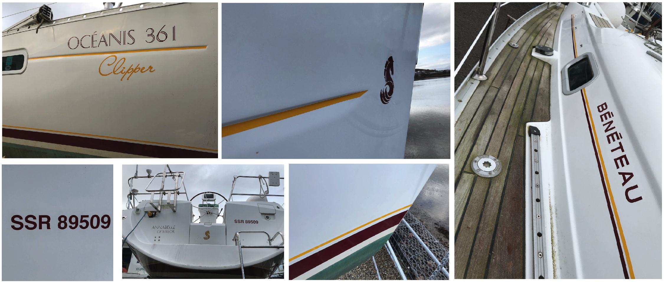 Replacement vinyl boat graphics - Art & Sea - Vinyl boat