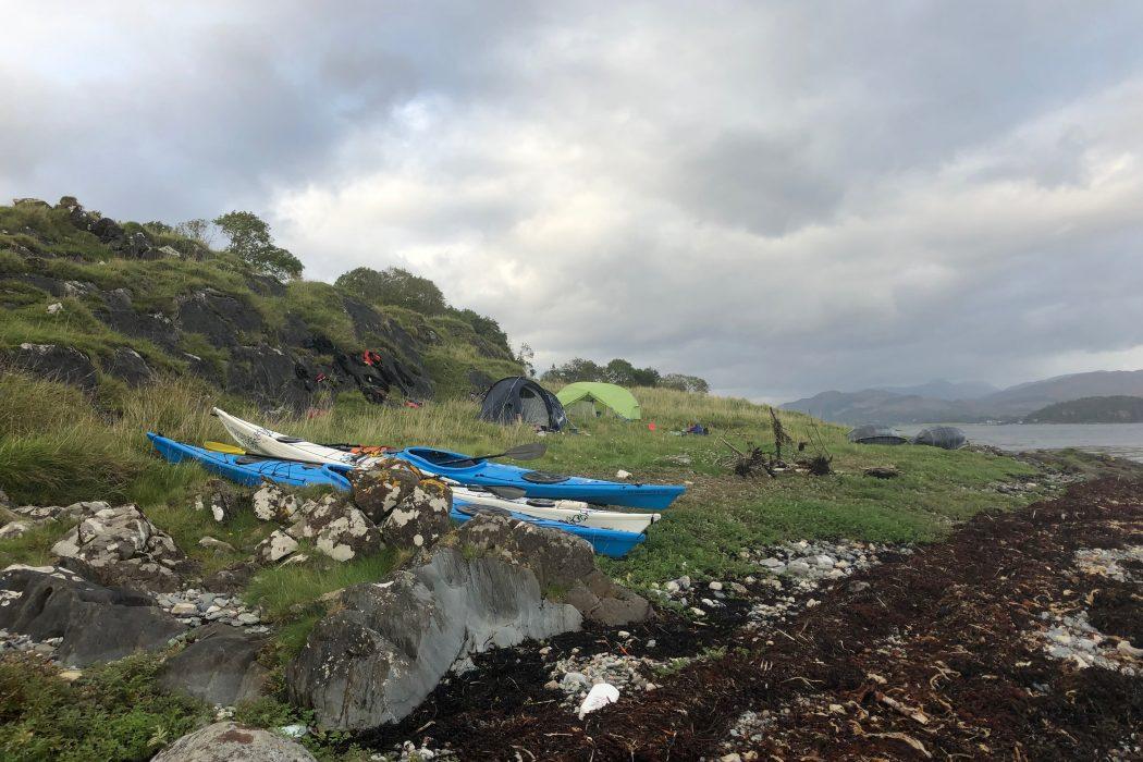 Sea Kayaking Lismore Argyll