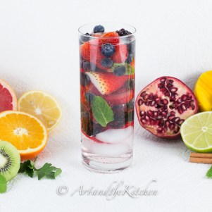 Mixed Berry Water