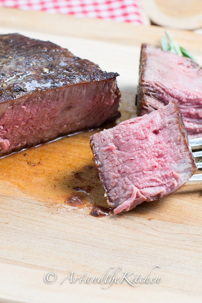 Simple Pan Fried Steak | Art and the Kitchen