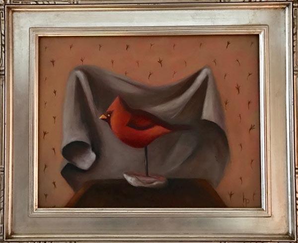 Bird Feet (Silver Frame)