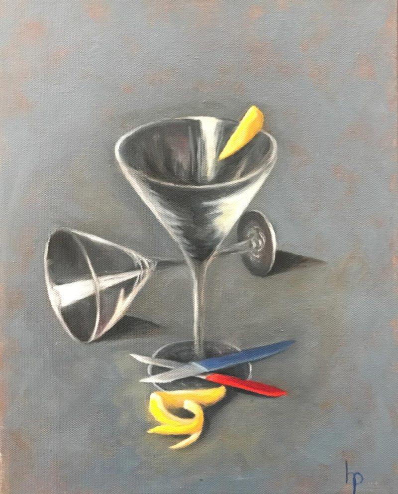 """""""Lemon Drop"""", Oil on Canvas, 11"""" x 14"""""""