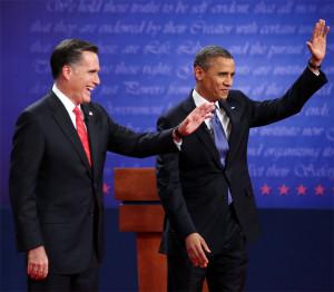 Romney e Obama