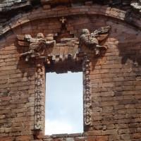 La chiesa maggiore della Santisima Trinidad I magnifici fregi con gli angeli che suonano strumenti musicali.