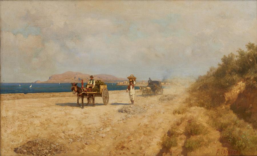 Di l dal Faro Paesaggi e pittori siciliani dellOttocento  art a part of culture