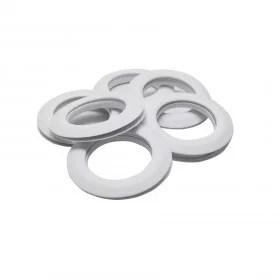 œillets rideaux a clipser 44 mm par 10 blanc mat