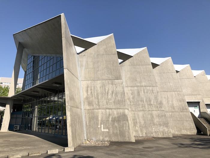 アントニン・レーモンド設計 群馬音楽センター