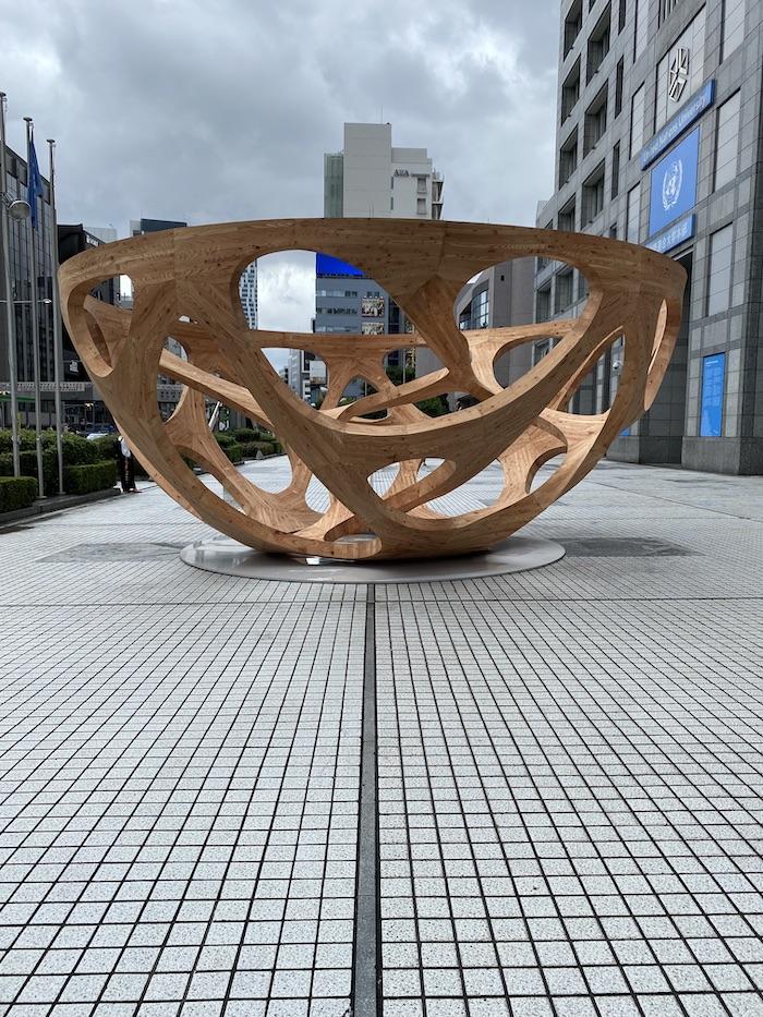 PAVILION TOKYO2021/パビリオン・トウキョウ展 ワタリウム美術館 平田晃久 Global bowl