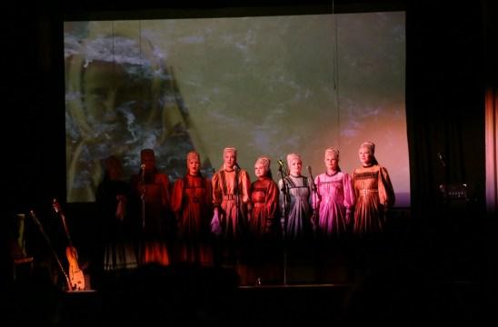 Emsemble Pomorskie Kruzhaniya of the Northern Folk Choir (Arkhangelsk, Russia) Photo: Lauri Jäntti