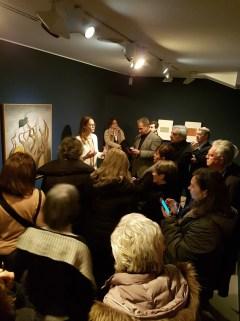Gražina Subelytė curator of the exhibition: Rita Kernn-Larsen at Peggy Guggenheim Collection Venice