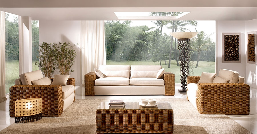 Salon Et Living Colonial