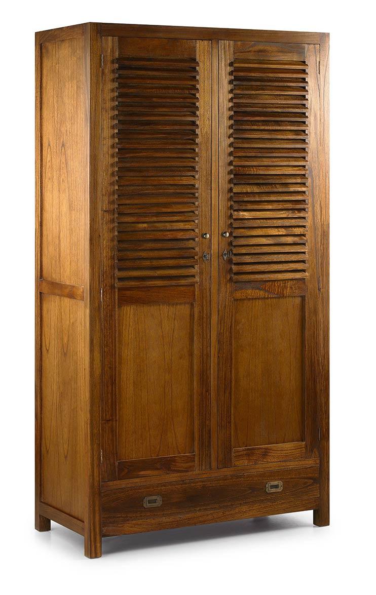 Mawan armoire dressing avec penderie