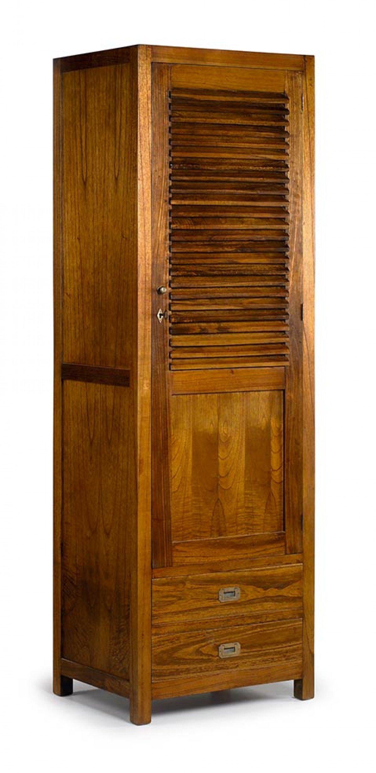 armoire 1 porte en bois mawan