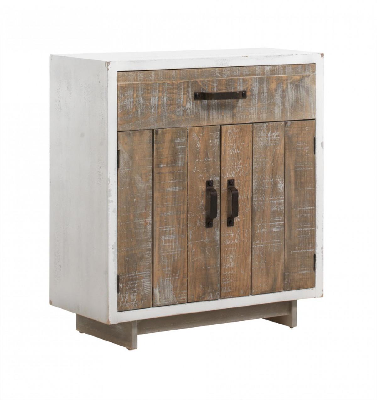 meuble d appoint en bois style vintage
