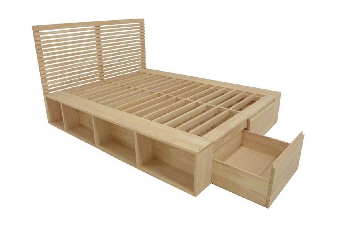 bentrey lit avec rangements bois ecologique
