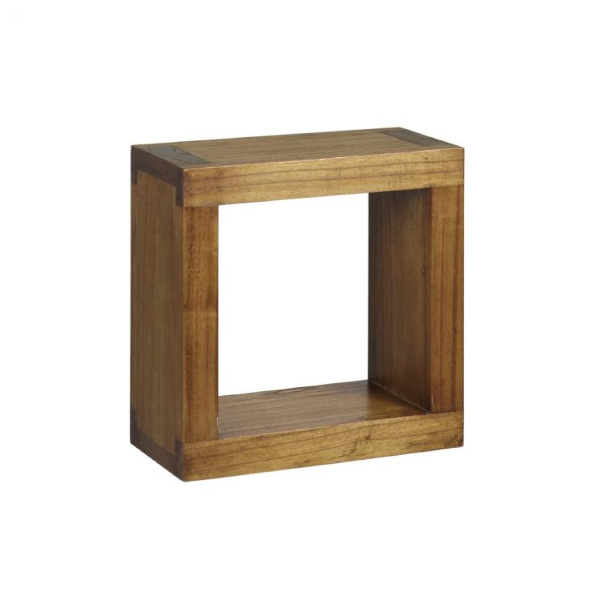 البورسلين الجسيمات عبر cube mural bois