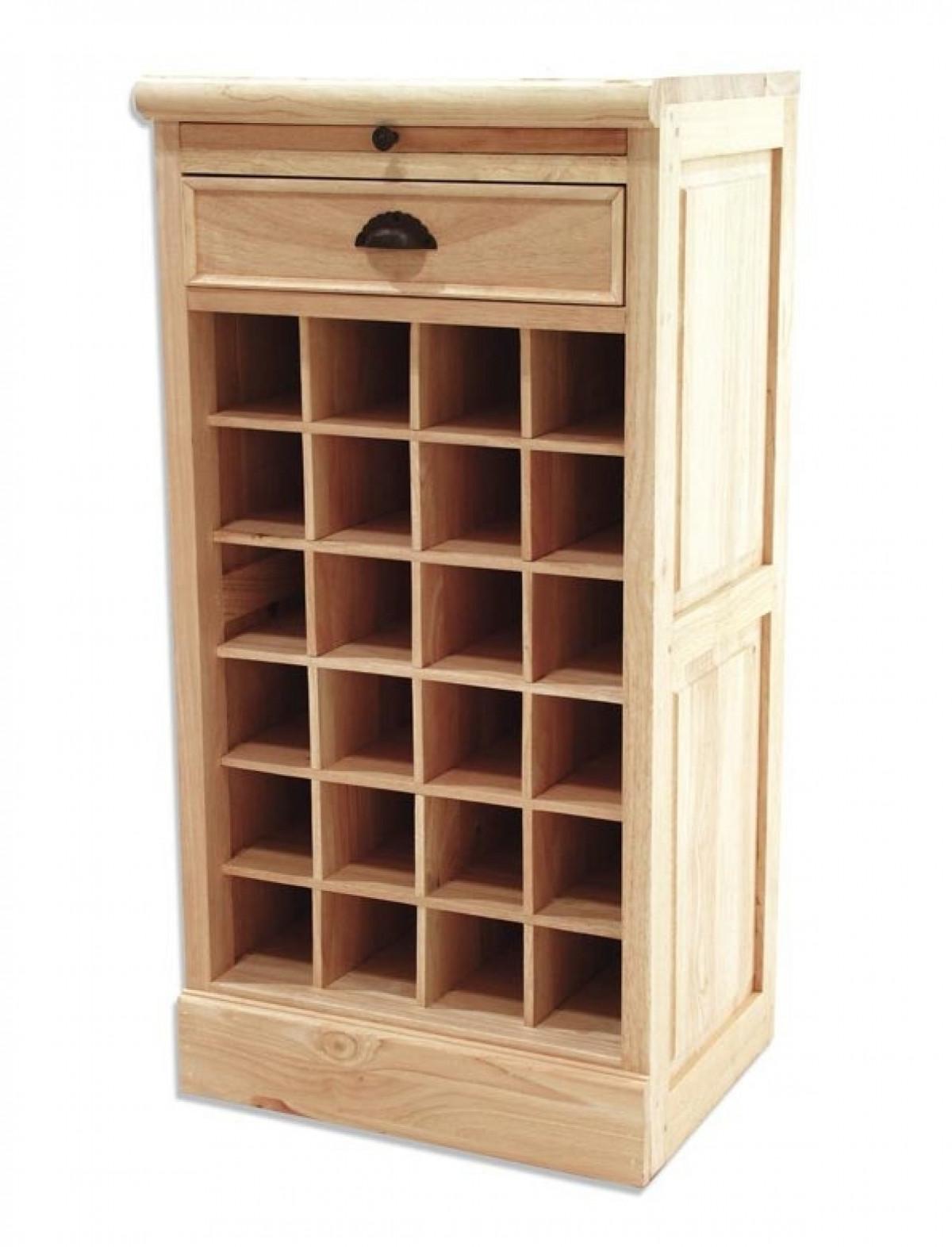meuble range bouteilles en bois personnalisable meubles de metier