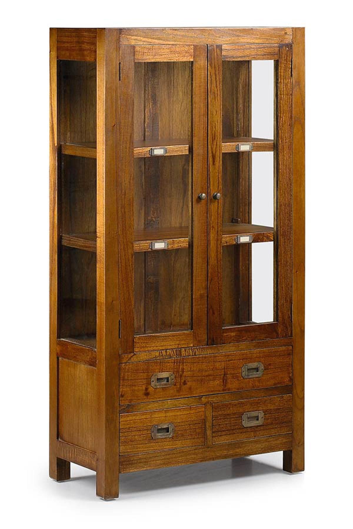 meuble vitrine en verre bois de mindy collection mawan