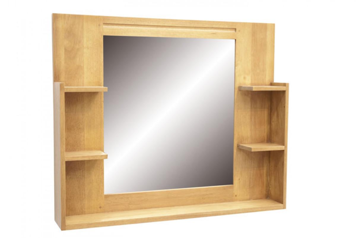Miroir Etagere Salle De Bain 90 Cm Calveth 5465